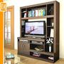 Modular Mesa Tv Lcd Centro De Entretenimiento Led Biblioteca
