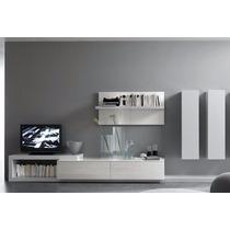 Modular Lcd Rack Mesa Tv Organizador Vajillero Ryo M. Alpes