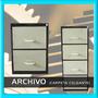 Archivo Fichero Metalico (para Carpeta Colgante)