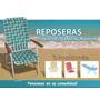 Reposera Playera Camping, Jardines 5 P. Por Mayor, Moron