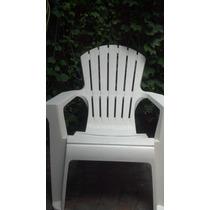 Sillon Gran California - Blanco - Plastico Jardin-exteriores