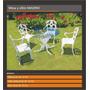 Sillon Madrid C/ Apoya Brazos Exterior Jardin Aluminio