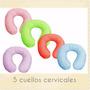 * Cuellox10 Descanso Cervical Adulto Con Funda,viaje,oficina