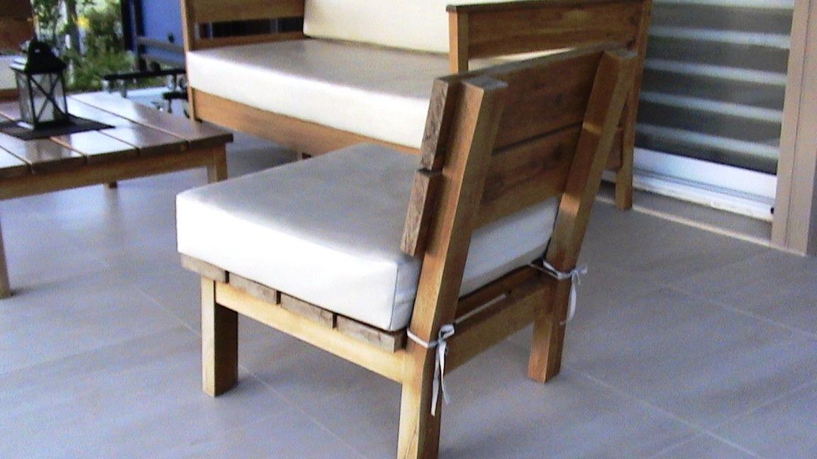 Muebles exterior madera dise os arquitect nicos for Sillones de exterior