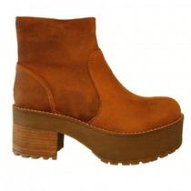 Clippate,botas Mujer,cuero,zapatos,suela,rocker,envío Gratis