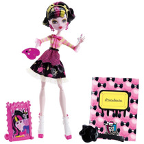 Monster High Draculaura Art Class!!! - Mattel -