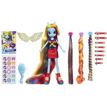 Muñeca My Little Pony Equestria Girls Rainbow Dash Hairstyl