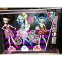 Muñecas Monster High Originales Pack Por Tres.
