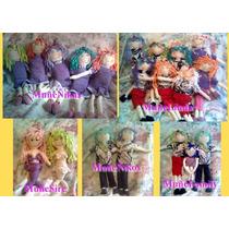 Muñecas Y Muñecos Artesanales En Tela Envio Gratis !!!
