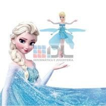 Muñeca Elsa Vuela Frozen Luz Batería Recargable Mirá Video !