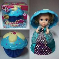 Muñeca Cupcakes Surprise Princesas Perfumadas Con Peine