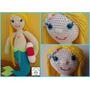 Sirena Amigurumi - Tejida Integramente Al Crochet