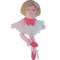 Muñeca De Tela En Jersey De Algodón Sara 50cm Giro Didáctico