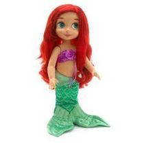 Princesa Ariel Muneca Tipo Animators Grande 45cm