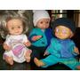 Muñecos Antiguos-lote De 3- Ideal Coleccionistas!!!!