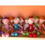 Muñecas De Tela Hermosas!! Pack X 16 Surtidas Oportunidad!!!