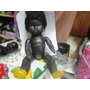 Antigua Muñeca Negra De Pasta Marca Famil