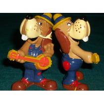 Figura Coleccion Disney Muñeco Juguete Banjo Dog Pizza Time