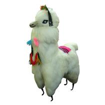 Hermosa Llama Lamita Andina De Lana De Llama 65cm