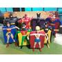 Colección Completa Superheroes Dc Comics Mac Donalds 2007