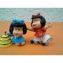Lote X 2 Mafalda Comics Spain De Goma Perfecto Estado Nuevas