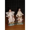 Angel Con 2 Nenes, Confirmacion,comunion,bautismo,souvenir
