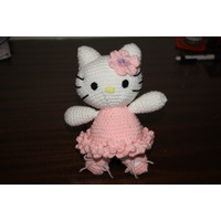 Gatita Hello Kitty Tejida Amigurumi Crochet