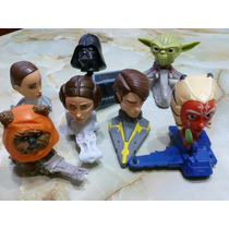 Combo 7 Muñecos Star Wars Macdonals