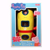 Peppa Pig Cohete Con Figuras Y Accesorios