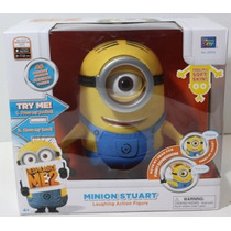 Despicable Me2 Minion Stuart Laughing Action Figure En Stock