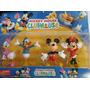 Blister 4 Muñecos Disney La Casa De Mickey Mouse
