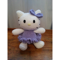 Gatita Hello Kitty!! Tejito Amigurumi Crochet