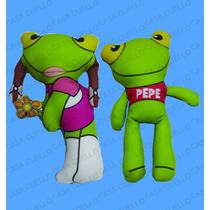 Muñeco Mini Apego Ideal Souvenir Sapo Pepe