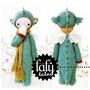 Patrón Lalylala Dragón - Amigurumi - Crochet - En Español