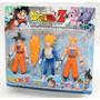 Muñecos Articulados Dragon Ball Z 3 Personajes