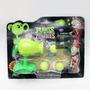 Muñecos Plantas Vs Zombies Con Lanzador De Bolas Guisantes
