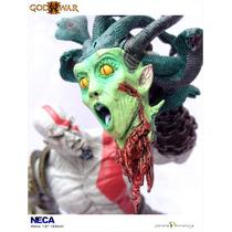 God Of War Kratos Con Cabeza De Meduza Neca Importado