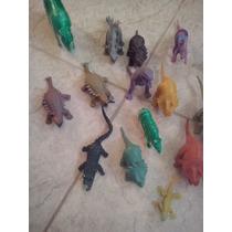Juguetes Dinosaurios De Goma Y Plástico.