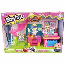 Shopkins Mini Supermercado Set De Juego Con Accesorios