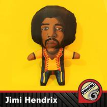 Jimi Hendrix Muñeco Vellon Tela
