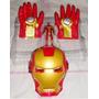 Muñeco Iron Man Con Manos Y Mascara Avenger