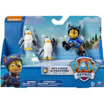 Paw Patrol Rescue Set Spy Chase & Penguins Original Z Devoto