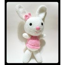 Conejo Oso Amigurumi Tejido Crochet