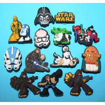 Staw Wars Jibbitz Pins Crocs. Usa 4 X $100
