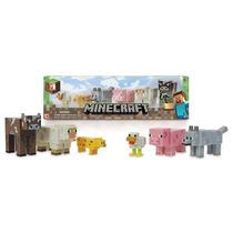 Minecraft Muñecos Animales Articulados 6 Figuras