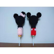 Souvenirs Mickey Y Minnie Tejidos Al Crochet