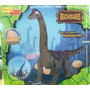 Dinosaurio Grande + 2 Revistas + 2 Videos De Nathinal Geogra