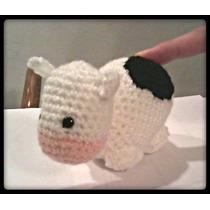 Vaca Amigurumi Tejido Crochet Kawaii