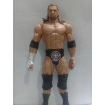 Wwe Triple H Hhh Figura De Accion Muñeco Abierto Mattel