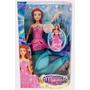 Ariel Transforma Su Cola En Vestido!minijuegosnet!